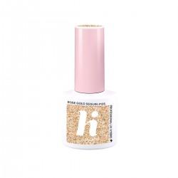 Hi Hybrid Lakier hybrydowy #135 Rose Gold Sequin -  Ballerina 5ml