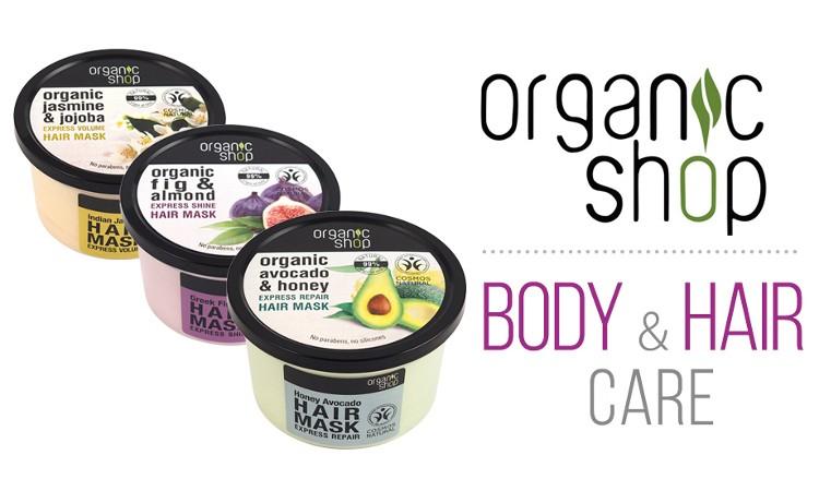 Kosmetyki Organic Shop już w ofercie!